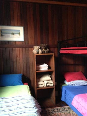Childrens room attached to the Dragon Suite at Rossmount Rural Retreat