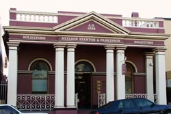 Historical architecture on display in Gympie CBD.